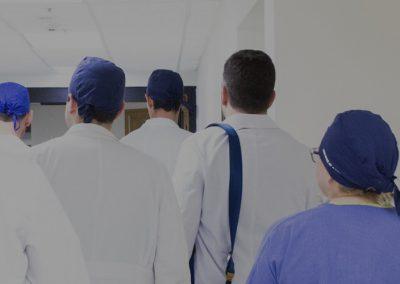 Tres contratos de trabajo en el Hospital San Cecilio de Granada (2/7/18)