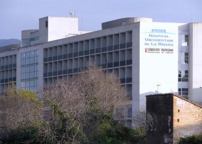 Sustitución en el Hospital U. de La Ribera (5/6/18)