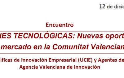 Soluciones Tecnológicas: Nuevas oportunidades de mercado en la Comunitat Valenciana