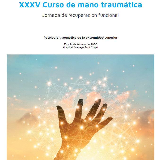 XXXV Curso de Mano Traumática