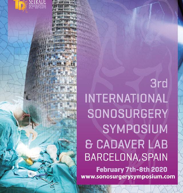 3rd International SonosurgerySymposium & Cadaver Lab