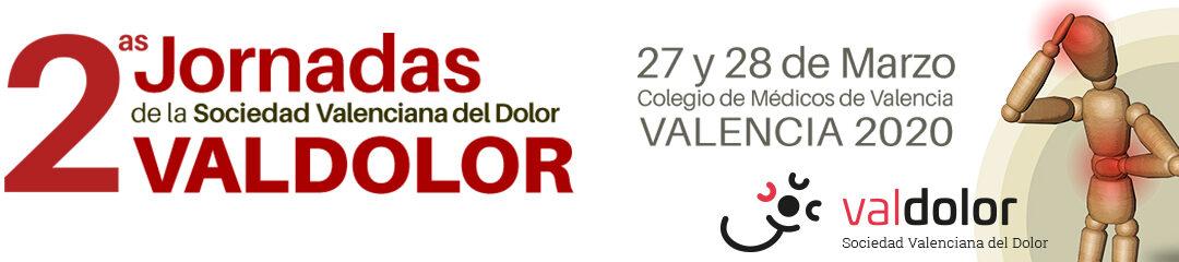 II Jornadas de la Sociedad Valenciana del Dolor (VALDOLOR)