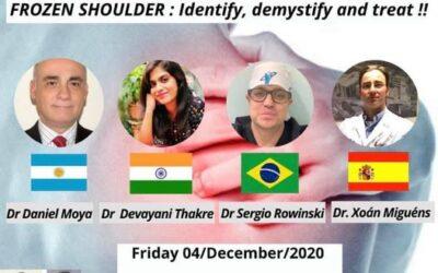 5°Webinar Internacional sobre capsulitis adhesiva