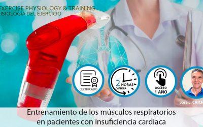 Entrenamiento de los músculos respiratorios en pacientes con insuficiencia cardiaca