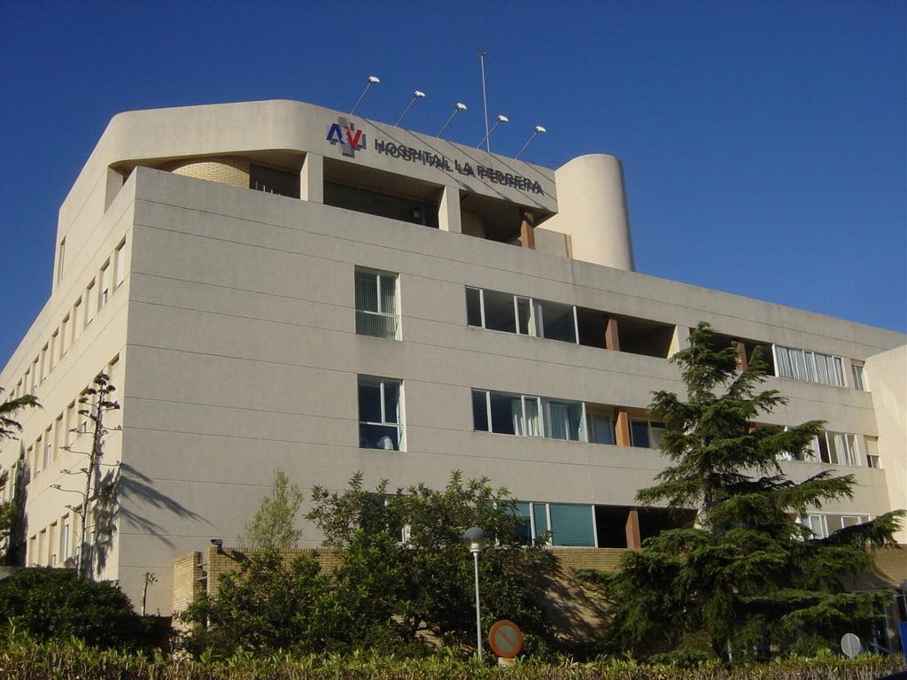 Contrato por baja en el Hospital de La Pedrera de Dénia (15/7/21)