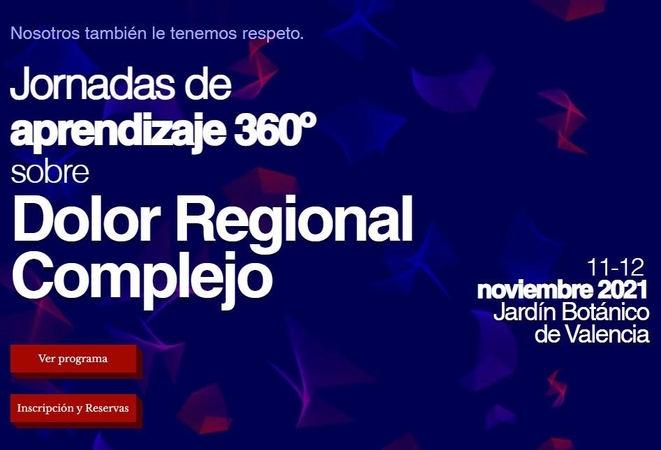 Jornadas de aprendizaje 360º sobre Dolor Regional Complejo