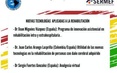 """Ciclo de Webinars AMLAR&SERMEF: NUEVAS TECNOLOGÍAS EN REHABILITACIÓN"""""""